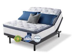 serta mattress. Simple Serta Perfect Sleeper Mattress On Adjustable Base In Serta Mattress T