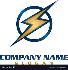 Electrical Company Logo Royalty Free Vector Image