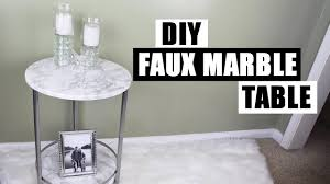contact paper on furniture. How To Apply Contact Paper Round Curved Surfaces Use DIY Faux Marble Side Table On Furniture