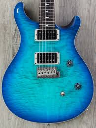 PRS Paul Reed Smith CE 24 MSL Special Run Quilt Top Guitar, Makena ... & PRS Paul Reed Smith CE 24 MSL Special Run Quilt Top Guitar, Makena Blue, Adamdwight.com
