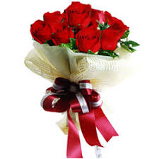 timeless romance red rose bouquet
