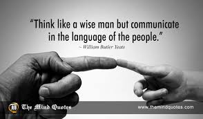 Yeats Quotes Simple William Butler Yeats Quotes On Men And Communication Themindquotes