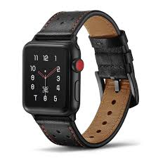 Veecircle <b>High Quality Leather</b> Strap Compatible With Apple Watch ...