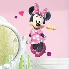 minnie mouse wall stickers by roommates