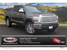 2015 Magnetic Gray Metallic Toyota Tundra Limited CrewMax 4x4 ...