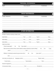 Rental Credit Application Credit Application For Rental Yupar Magdalene Project Org