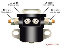 4 post solenoid diagram 23 wiring diagram images wiring diagrams no crank external solenoid please help me basic solenoid connections mytractorforum 4 post solenoid wiring diagram at