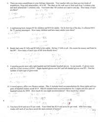solving quadratic equations word problems worksheet with answers