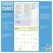 Chore Chart 2020 Wall Calendar