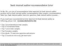 Cover Letter For Vetassess Reference Letter Internal Auditor