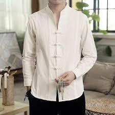 Мужчины Классический китайский стиль <b>кунг</b>-фу рубашка Тан ...