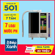 Máy Lọc Nước Điện Giải Ion Kiềm Kangen Leveluk SD501 - Bếp XANH -  BepXANH.com Giá Cực Rẻ
