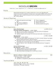 Effective Resume Templates 2017 Best Of Simple Executive Resume