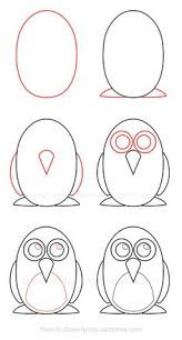 simple drawings art projects drawing tutorials drawing ideas draw s drawing lessons how to draw how to draw a penguin