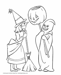 halloween costumes coloring pages halloween costume coloring pages boy and girl halloween costume