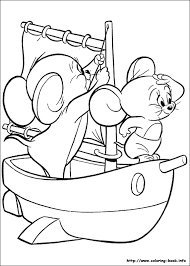 Small Picture Tom and Jerry coloring pages on Coloring Bookinfo
