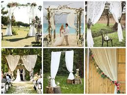 Decoration Ceremonie De Mariage Exterieur Id Es Et D Inspiration