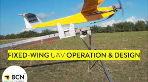 Fixed Wing Drone Design Fixed Wing Uav Operation Design Course