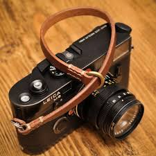 <b>Thick</b> Brown Leather Camera Wrist Strap for the Minimalist Shooter ...