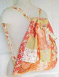 Drawstring Backpack Pattern Interesting Another Drawstring Pattern Love The Knotted Straps That Draw Up The