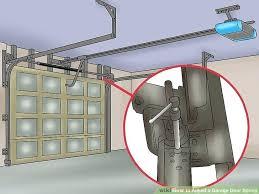 how to adjust a garage door image titled adjust a garage door spring step how to adjust a garage door