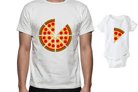 Pizza Shirt Designs Parent And Child Pizza Tee Shirt Design Combo Svg Dxf Eps Vector Files For Use With Cricut Or Silhouette Vinyl Cutting Machines
