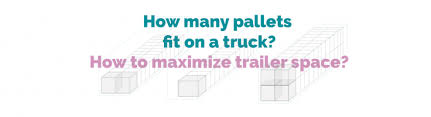 how many pallets fit on a truck how to