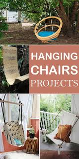 If you want to make a hanging chair by yourself, here are 12 creative ideas