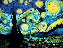 acrylic painting for beginners the starry night vincent van gogh oil on canvas 1889
