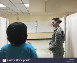 U S Army Reserve Sgt Shannon Page A Health Care