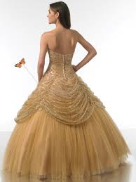 ball dresses online. gold quinceanera dresses online ball gowns tulle sweetheart ruffle scoop neck floor length vestido dress-in from