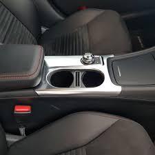 1PC Chrome Central Storage Trim For <b>Mercedes Benz CLA</b> GLA ...