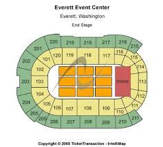Xfinity Arena At Everett Tickets And Xfinity Arena At