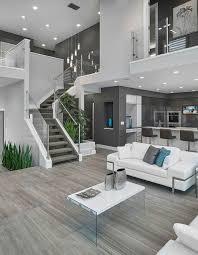 déco salon contemporary living room design with white interior and gl decoration