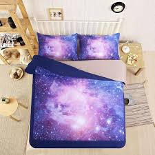 2016 purple galaxy space bedding set twin full queen size sleep between the stars with the