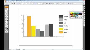 Adobe Charts And Graphs Creating A Graph Within Adobe Illustrator