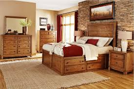 Rustic Pine Bedroom Furniture Brown Shade Table Lamp On Wooden Bed Side  Table Nice Masculine Black Window Treatment Combined White Shade Table  Lamps ...