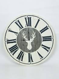 how to make wall clock at home learn how to make a farmhouse wall clock using
