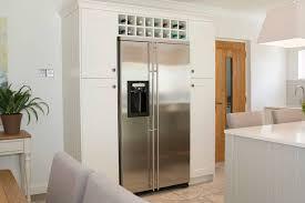 integrated american fridge fridge freezer built in kitchens by adornas kitchens