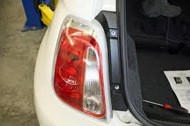 installing the taillight wiring on fiat abarth for flat towing 4 13 15 abarth blueox wiring 8
