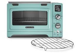 kitchenaid kco275aq convection 1800 watt digital countertop oven 12 inch aqua sky