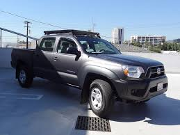 Front Runner Slimline II Half Rack for 2005+ Toyota Tacoma Double Cab