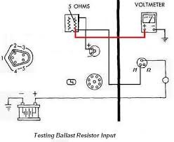 chrysler electronic ignition system if voltage incorrect wiring between ballast resistor and ignition switch is defective repair wiring
