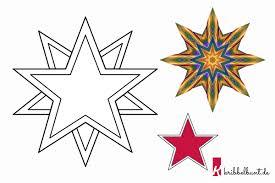 Für die abmeldung ist der personalausweis oder reisepass (als nach § 15 des landesmeldegesetzes ist eine meldung durch abgabe des ausgefüllten und vom meldepflichtigen. Stern Vorlage Zum Ausdrucken Pdf Sternvorlagen Kribbelbunt