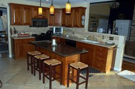 Kitchen Island With Granite Top And Seating Kitchen Island Ideas Black Kitchen Island With Seating