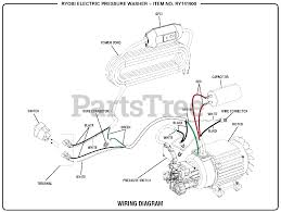 ryobi pressure washer wiring diagram Pressure Washer Wiring Diagram Power Washer Parts Diagram