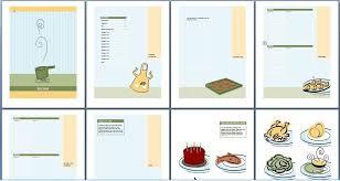 Recipe Template Word Cookbook Cover Template Word Templates Mjk4mjg Resume