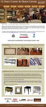 Quality Carpets Design Center G Fried Carpet Design Center Competitors Revenue And