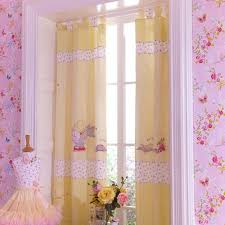 the machine washable curtains are lined and have been designed to co ordinate perfectly with the rest of the lottie fairy princess nursery range