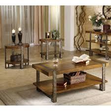 Coffee Table Set Of 3 Riverside Sierra Rectangular 3 Piece Coffee Table Set Coffee